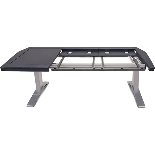 Argosy Eclipse Workspace for Yamaha Nuage Workstation with Left Desk Surface and 1 Master/1 Fader (Black Trim)
