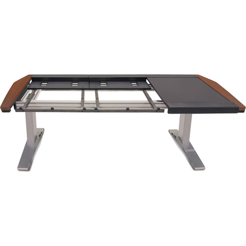 Argosy Eclipse Workspace for Yamaha Nuage Workstation with Right Desk Surface and 1 Master/1 Fader (Mahogany Trim)