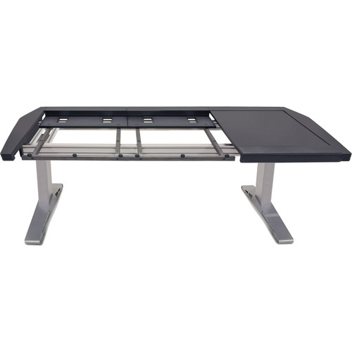 Argosy Eclipse Small Console Workspace for Yamaha Nuage Workstation with Right Desk Surface and 1 Master/1 Fader (Black Trim)