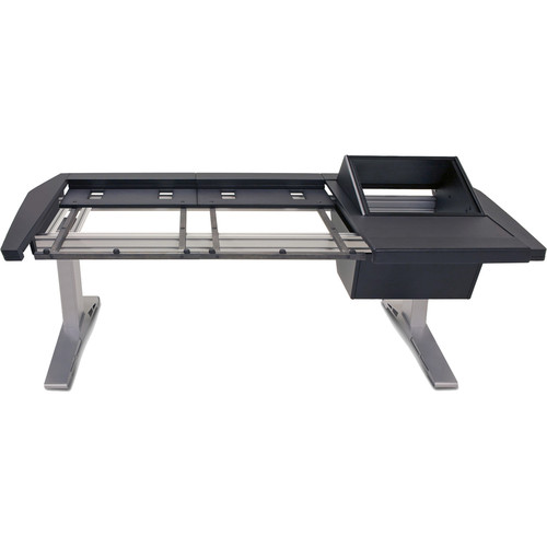 Argosy Eclipse Large & Small Workspace for Yamaha Nuage Workstation with Right 8 RU Rack and 1 Master/2 Faders (Black Trim)