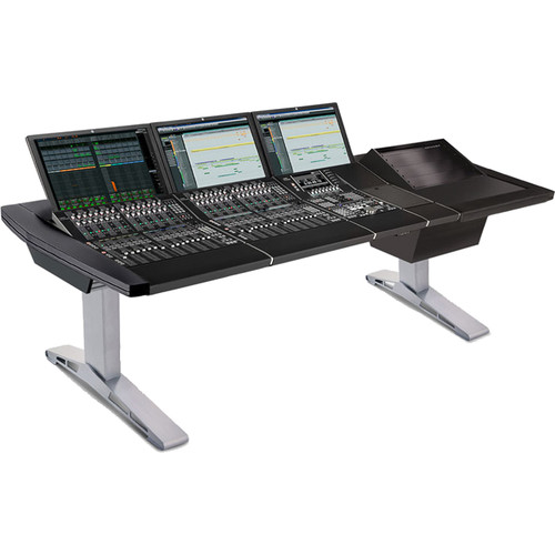 Argosy Eclipse Small Workspace for Yamaha Nuage Workstation with Right 8 RU Rack and 1 Master/2 Faders (Black)