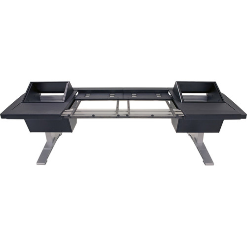 """Argosy Eclipse 6-Bucket Console Workspace for Avid S6 Workstation with Left and Right Side 8 RU (Black, 127.9"""")"""