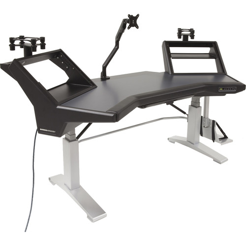 """Argosy Halo Workstation with Legs and Ultimate Accessory Package (79.7"""")"""