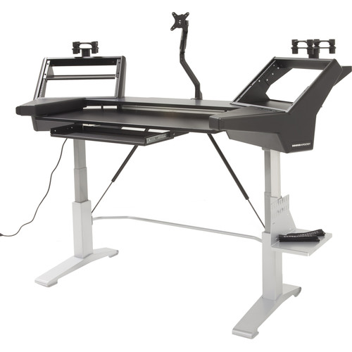 Argosy HALO.KE Ultimate Sit-to-Stand Studio Desk for 61-Note Keyboard Controllers