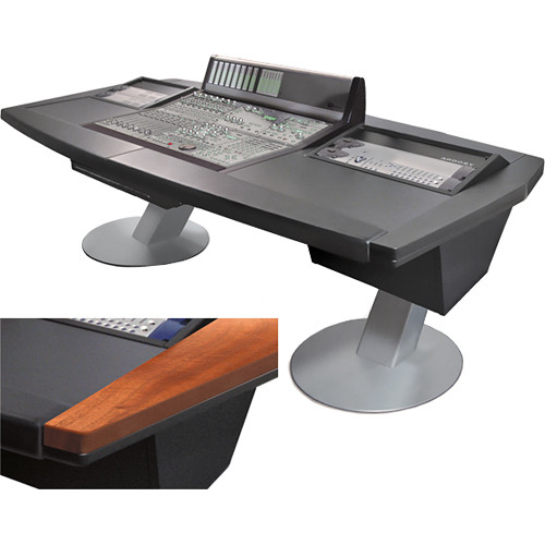 "Argosy Mirage 8-Channel Desk for Avid (Digidesign) D Command (Mahogany Finish, 87.1"")"