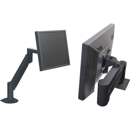 Argosy 7500 Series Monitor Arm for 8 to 27 lb Display (Black)