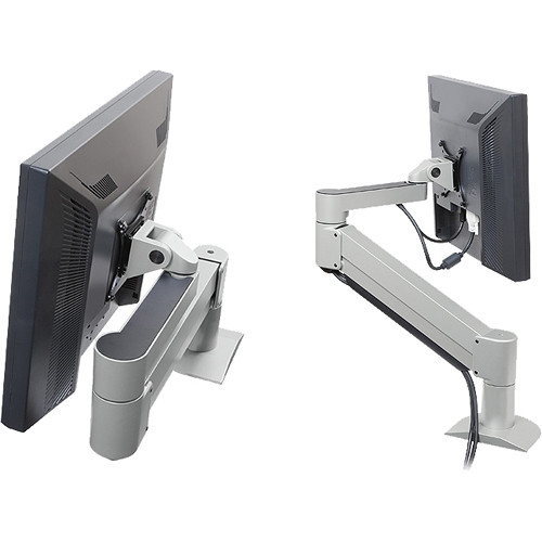 Argosy 7500 Series Monitor Arm for 8 to 27 lb Display (Silver)