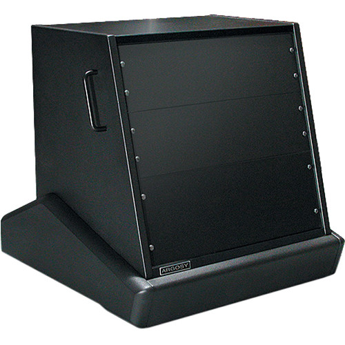 Argosy Rack 'N Roll 10 RU Forward-Facing Rackmount (Black Powdercoat)