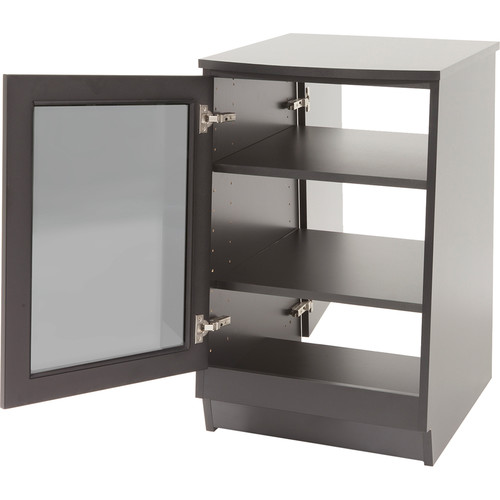 Argosy Spire Rack Ultimate Package 3 Single-Bay Enclosure with Two Glass Front Door