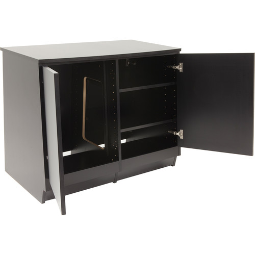 Argosy Spire Rack Plus Package Double-Bay Enclosure with Two Solid Front Doors