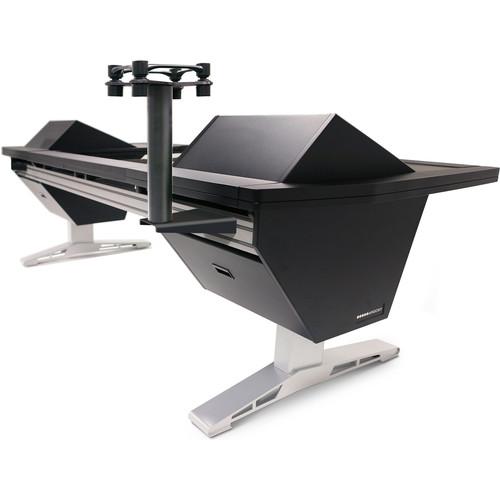 Argosy Speaker Mount with Aperta 300 Platform and Eclipse Rail Mount Assembly (Single, Black)