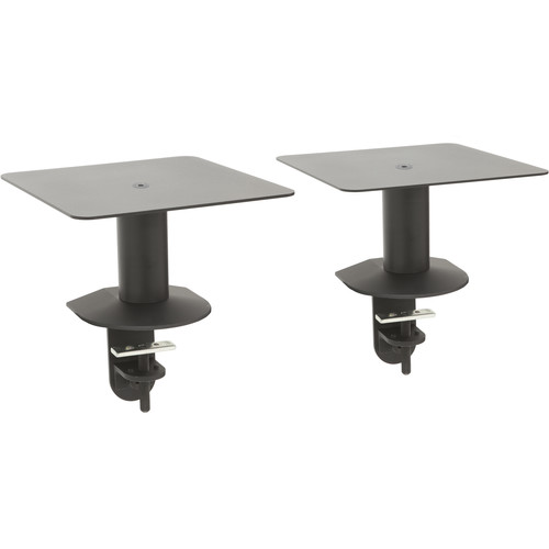 """Argosy Model 5 Classic Speaker Mount/10x10""""Platform and Clamp Mount-Height from Mounting Surface 5.79""""-Pair"""