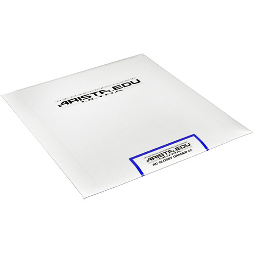 "Arista EDU Ultra Graded RC Paper (Glossy, Grade 2, 8 x 10"", 25 Sheets)"