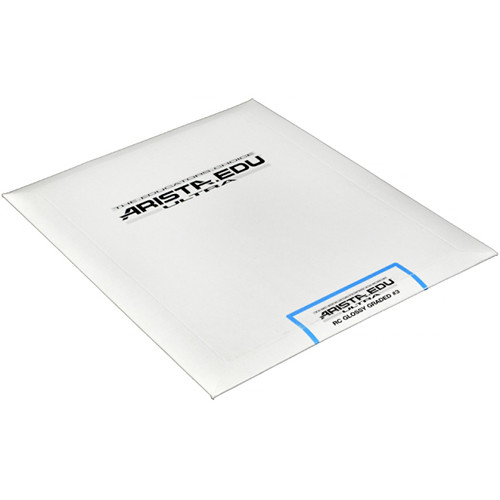"Arista EDU Ultra Graded RC Paper (Glossy, Grade 3, 8 x 10"", 25 Sheets)"