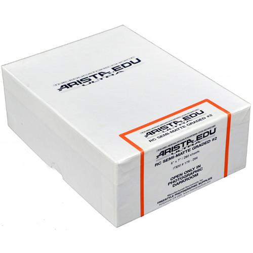 "Arista EDU Ultra RC Grade #2 Black & White Photo Paper (Semi-Matte, 5 x 7"", 250 Sheets)"