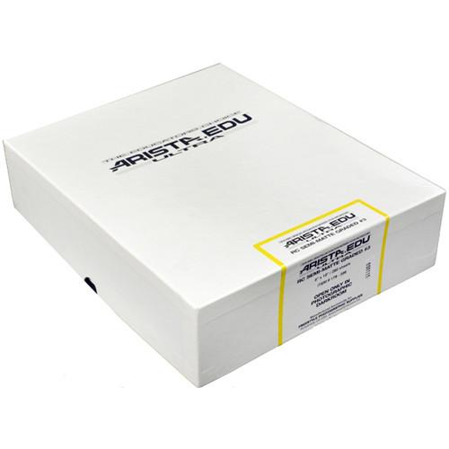 "Arista EDU Ultra RC Grade #3 Black & White Photo Paper (Semi-Matte, 8 x 10"", 250 Sheets)"