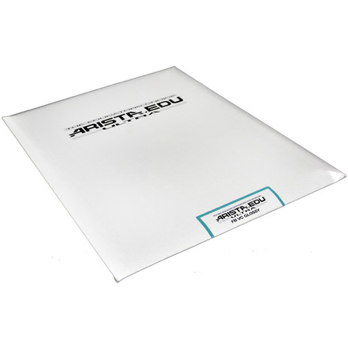 "Arista EDU Ultra VC Fiber-Base Black & White Photo Paper (Glossy, 16 x 20"", 25 Sheets)"