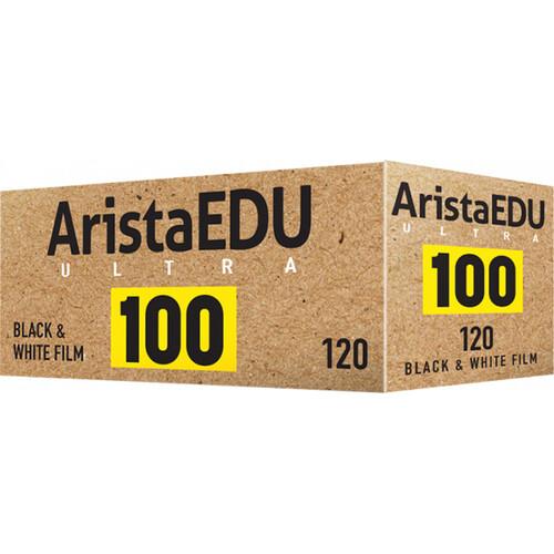 Arista EDU Ultra 100 Black and White Negative Film (120 Roll Film)