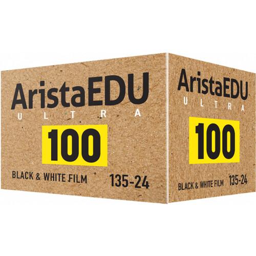Arista EDU Ultra 100 Black and White Negative Film (35mm Roll Film, 24 Exposures)