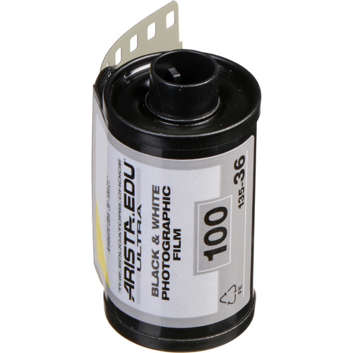 Arista EDU Ultra 100 Black and White Negative Film (35mm Roll Film, 36 Exposures)