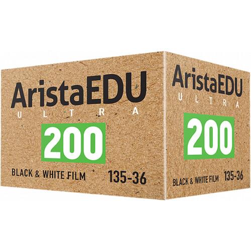 Arista EDU Ultra 200 Black and White Negative Film (35mm Roll Film, 36 Exposures)