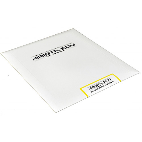"Arista EDU Ultra Graded RC Paper (Semi-Matte, Grade 3, 8 x 10"", 25 Sheets)"