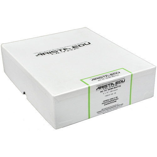 """Arista EDU Ultra VC RC Paper (Semi-Matte, 8 x 10"""", 250 Sheets)"""