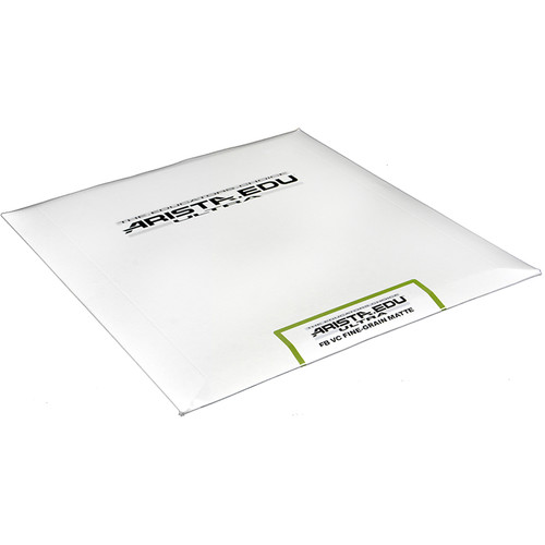 """Arista EDU Ultra FB VC Fine Grain Paper (Semi-Matte, 8 x 10"""", 25 Sheets)"""