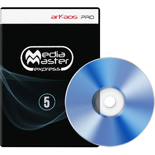 ArKaos Media Master Express Backup- Boxed Version