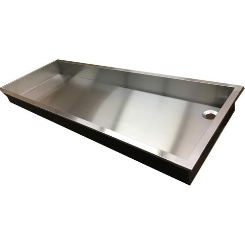 "Arkay Sink Pan 24 x 96 x 6"" Stainless Steel"