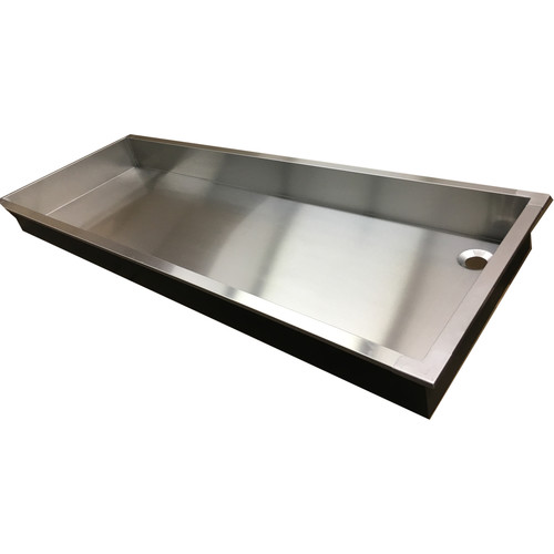 "Arkay Sink Pan 30 x 96 x 6"" Stainless Steel"