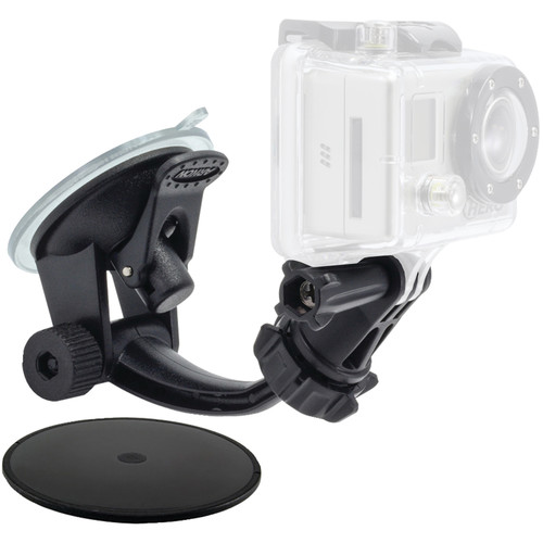 ARKON Car Windshield and Dashboard Mount for GoPro HERO