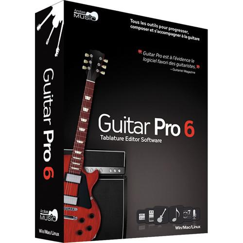 Arobas Music Guitar Pro 6 Tablature and Scoring Software