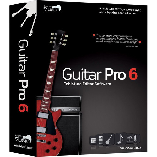 Arobas Music Guitar Pro 6 Guitar and Bass Tablature Editor (Boxed)