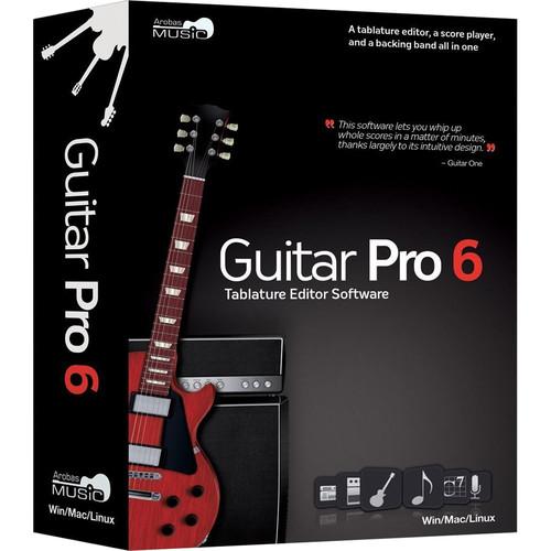 Arobas Music Guitar Pro 6 XL - Tablature and Scoring Software Plus 6 Soundbanks (XL Edition, Boxed)