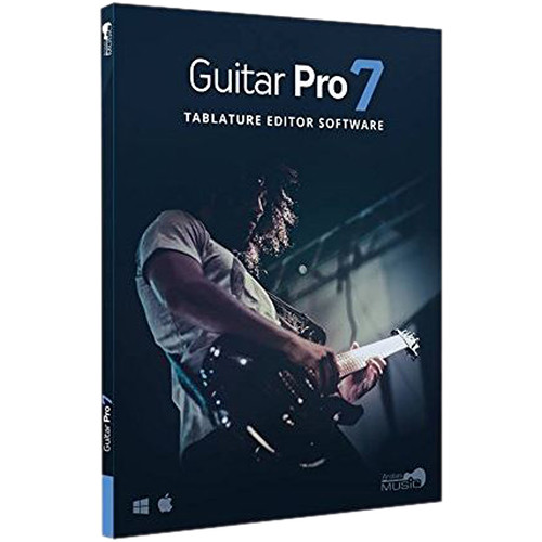 Arobas Music Guitar Pro 7 - Guitar Tablature Editing and Composition Software (Download)
