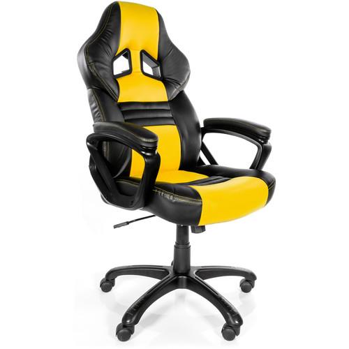 Arozzi Monza Gaming Chair (Yellow)