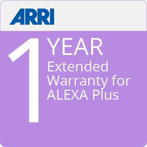 ARRI ALEXA Plus Extended Warranty 1 Year