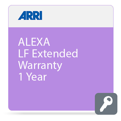 ARRI ALEXA LF Extended Warranty 1 Year
