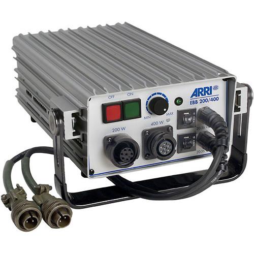 ARRI 200/400W DC Electronic Ballast for HMI Pocket Par 400 (24-30 VDC, CSA Certified)