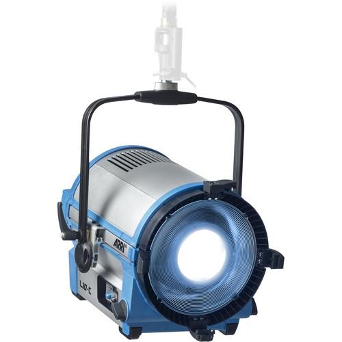 ARRI L10-C Color LED Fresnel (Blue/Silver, Stand Mount)