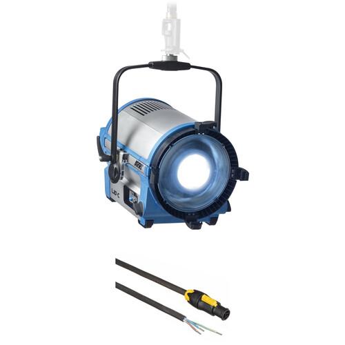 ARRI L10-C Color LED Fresnel (Blue/Silver, Pole Operated)