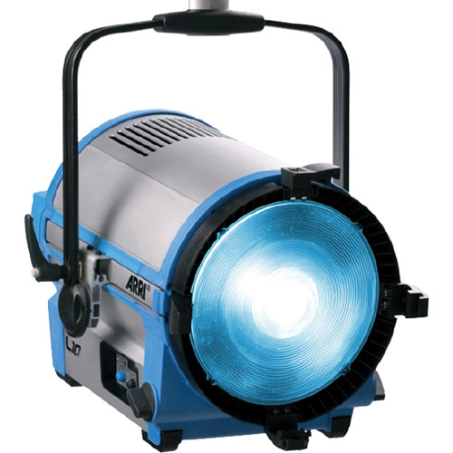 Arri L10-TT LED Tungsten Fresnel (Blue/Silver, Pole Operated)