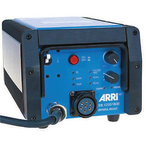 ARRI 1200/1800W Electronic Ballast with DMX and ALF (120-220 VAC)