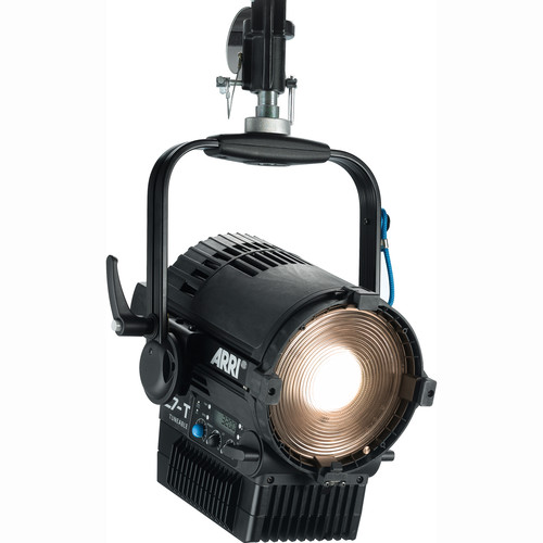 """ARRI L7-TT 7"""" Tungsten LED Fresnel with Active Cooling (Black, Hanging)"""