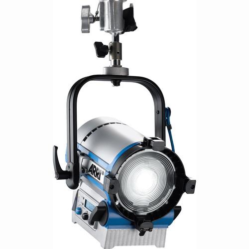 """ARRI L5-DT 5"""" Daylight LED Fresnel (Silver/Blue, Hanging)"""