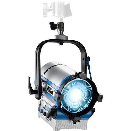 "ARRI L5-C 5"" LED Fresnel (Silver/Blue, Pole Operated)"