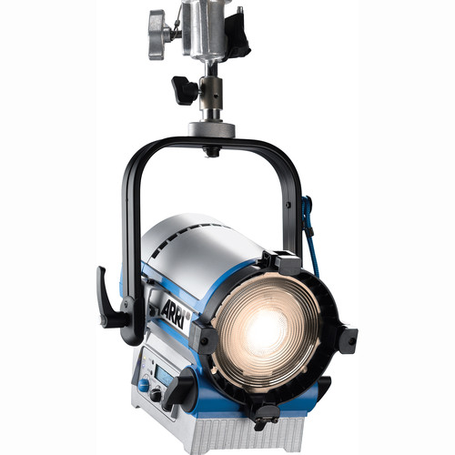 "ARRI L5-TT 5"" Tungsten LED Fresnel (Silver/Blue, Pole Operated)"