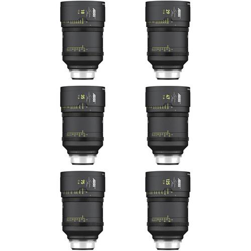 ARRI Signature Prime 6-Lens Core Set (LPL)