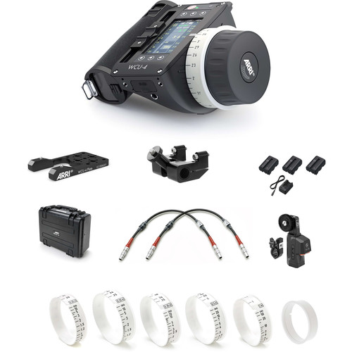 ARRI cforce Set for ALEXA Mini with WCU-4 & 6x Pre-Marked Disks (Meters)